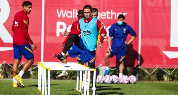 غريزمان و تدريب برشلونة