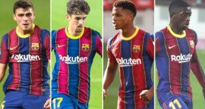 مواهب برشلونة