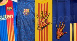 قمصان برشلونة