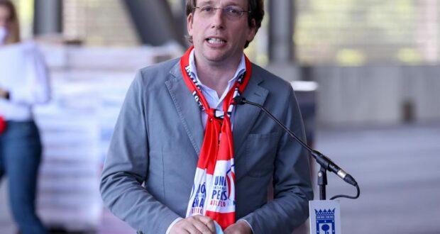 ألميدا رئيس بلدية مدريد