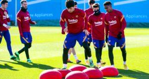 تدريبات برشلونة