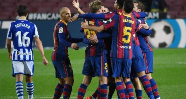 الفريق , لاعبي برشلونة