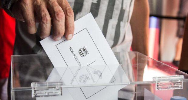 إنتخابات برشلونة