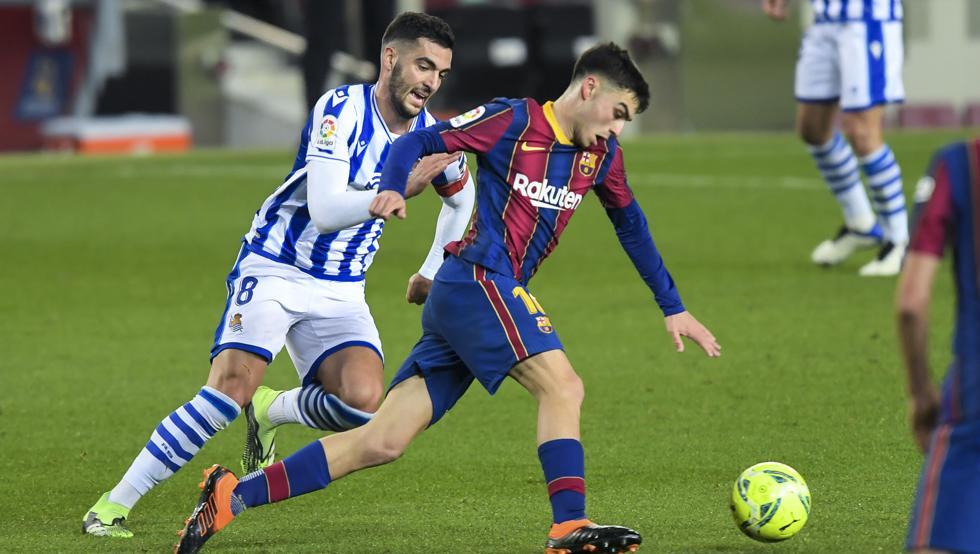 برشلونة - ريال سوسيداد ، انقلب الوضع رأساً على عقب بعد شهر 1