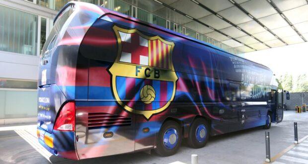 حافلة برشلونة