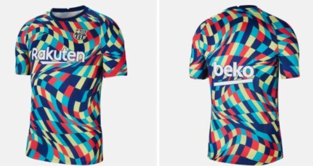 قميص تدريب برشلونة