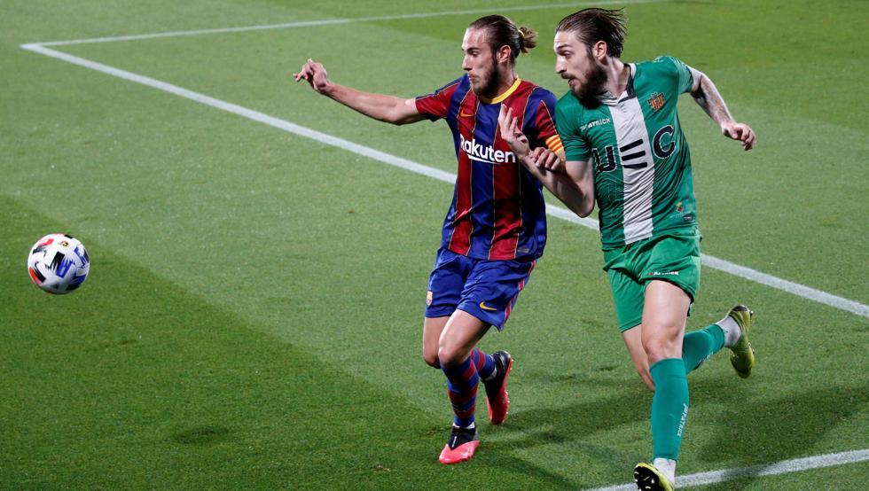 كورنيا-برشلونة ، من كأس الملك ، في 21 يناير 1