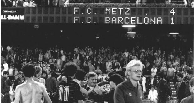 دوري الابطال - ميتز - برشلونة