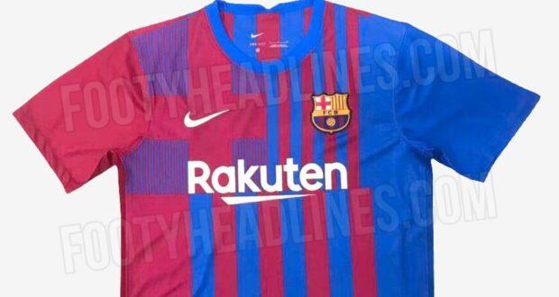 قميص برشلونة 21-22