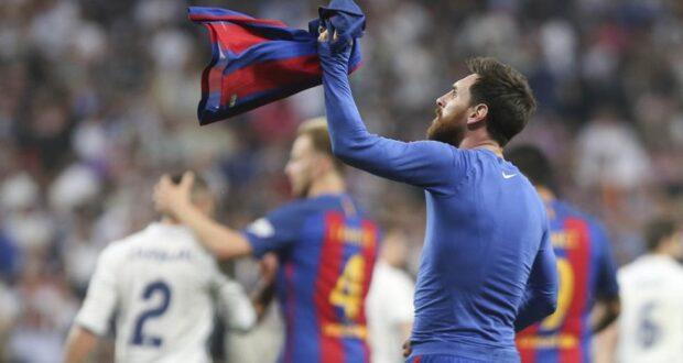 ميسي - الكلاسيكو ضد ريال مدريد