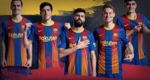قميص برشلونة الخاص