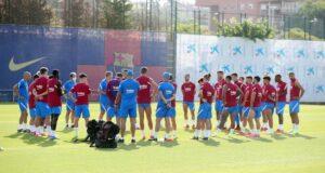 تدريب الفريق