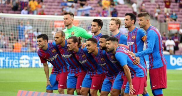 تشكيلة برشلونة