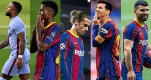 هجوم برشلونة
