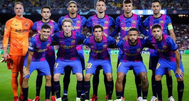 فريق برشونة في الأبطال