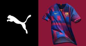 قميص برشلونة و بوما